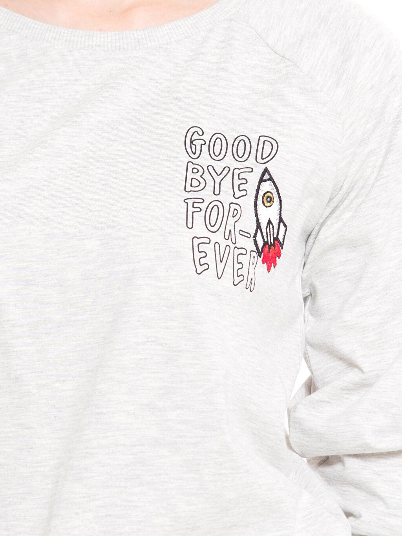 %68 Pamuk %32 Polyester Tişört