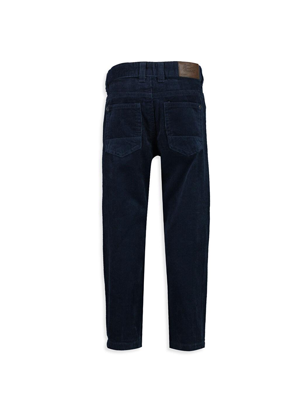 %100 Pamuk Standart Normal Bel Standart Kalıp Kadife Pantolon