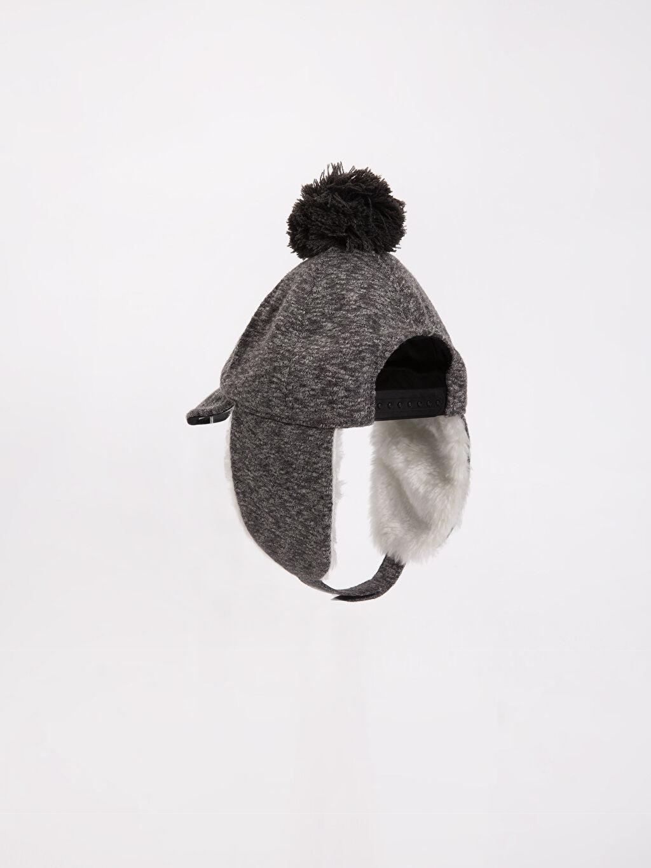 Erkek Çocuk Ponponlu Şapka