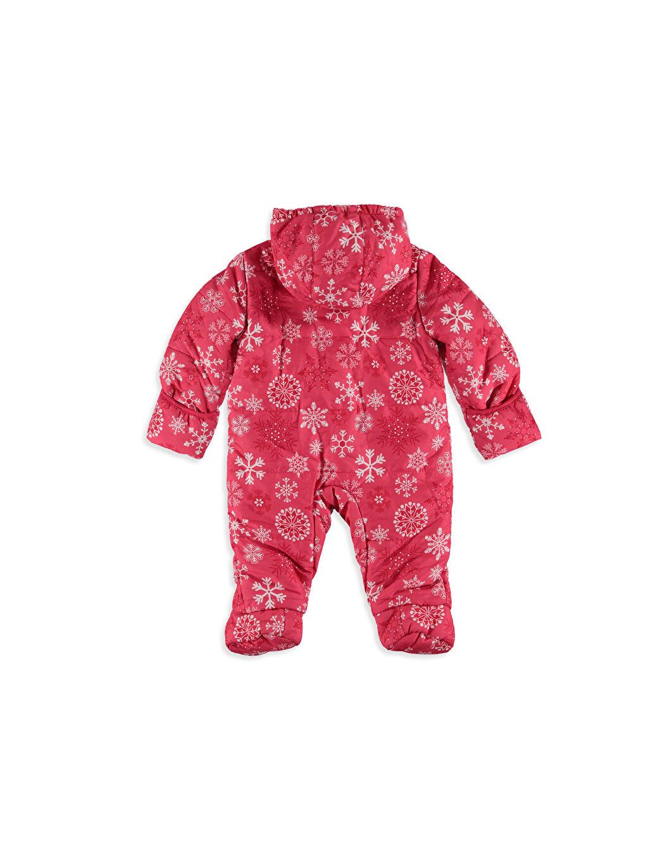 %100 Polyester %100 Polyester  Kız Bebek Polar Astarlı Kalın Astronot Mont