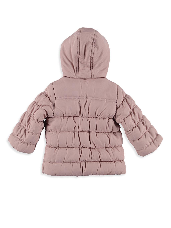 %100 Polyester %100 Polyester Kalın Kaban Kız Bebek Polar Astarlı Kalın Kaban