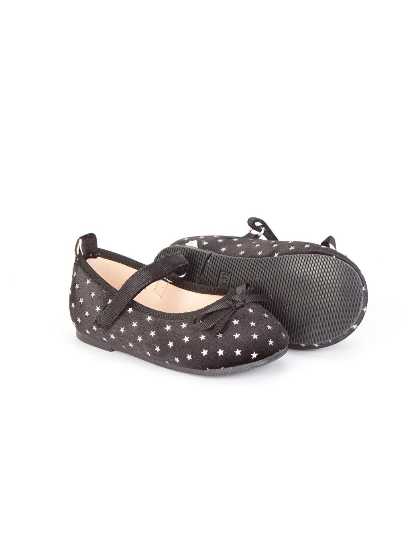 Kız Bebek Kız Bebek Kadife Babet Ayakkabı