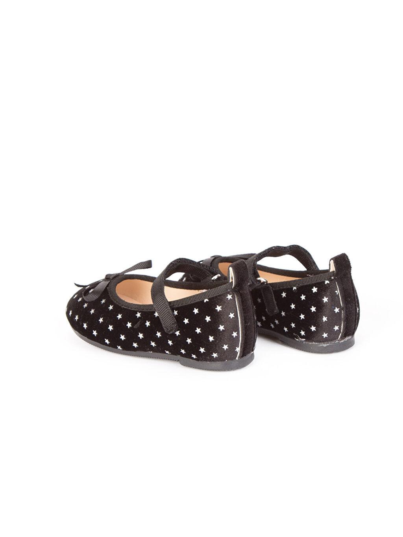Kız Bebek Kadife Babet Ayakkabı