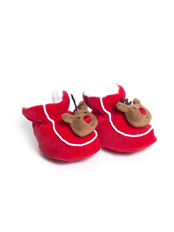 Tekstil malzemeleri Tekstil malzemeleri Ayakkabı Erkek Bebek Polar Astarlı İlk Adım Ayakkabısı