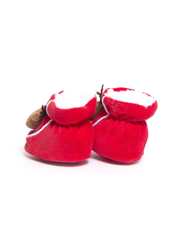 Erkek Bebek Polar Astarlı İlk Adım Ayakkabısı