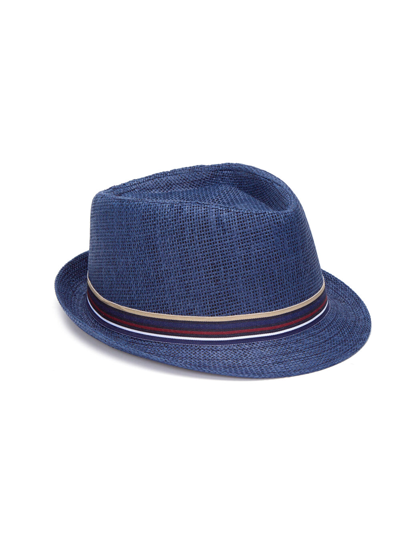 Lacivert Bant Detaylı Fötr Şapka 8S7169Z8 LC Waikiki
