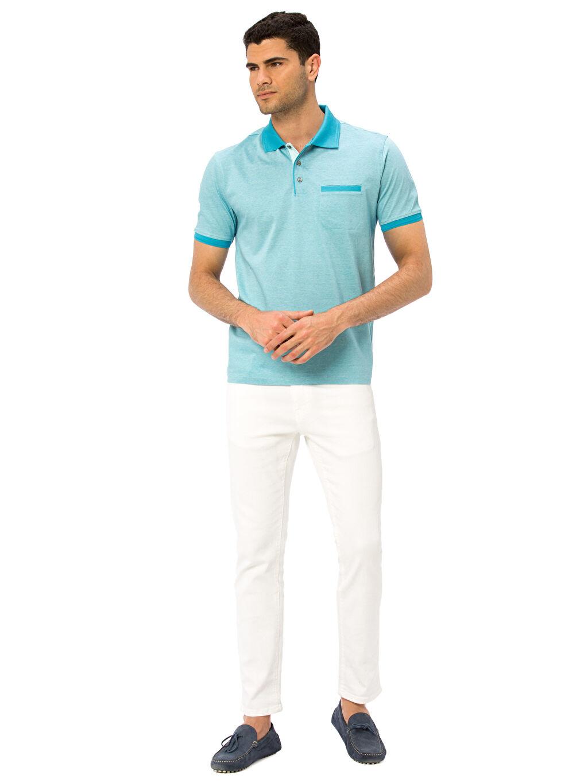 Erkek Merserize Polo Yaka Tişört
