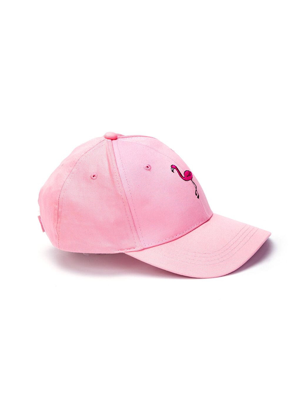 Pembe Nakışlı Pamuklu Şapka 8S2254Z8 LC Waikiki