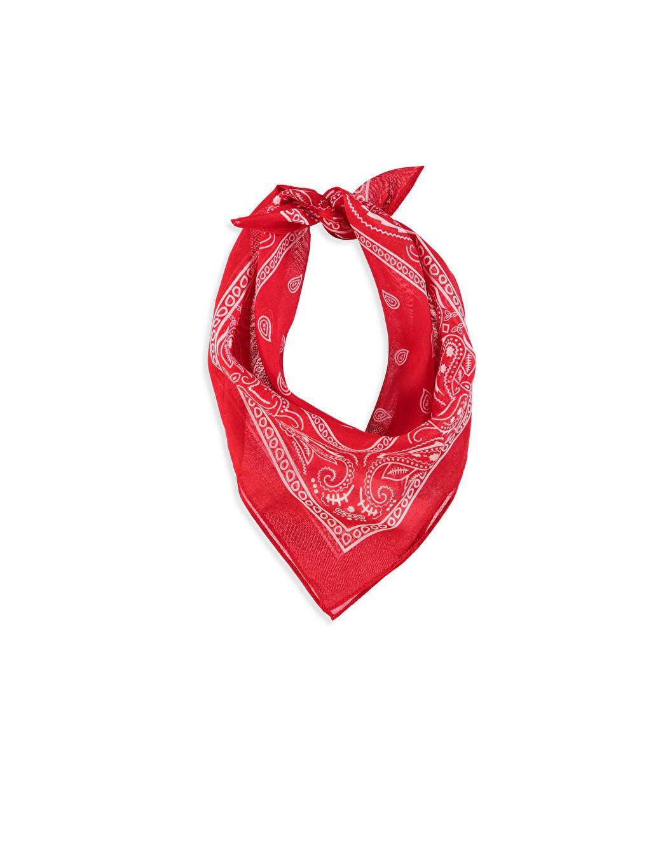 Kırmızı Şal Desenli Bandana 8S7311Z8 LC Waikiki