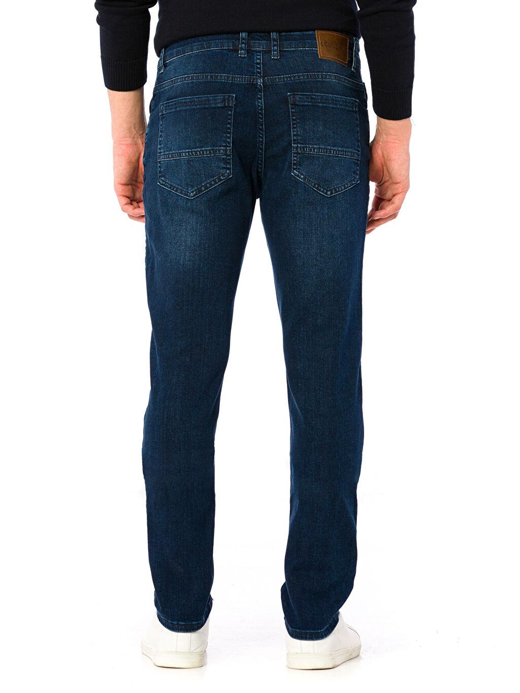 %98 Pamuk %2 Elastan Normal Bel Dar Slim Jean Pantolon