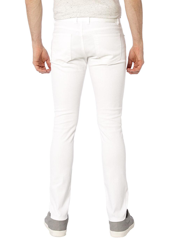 %98 Pamuk %2 Elastan Dar Normal Bel Skinny Gabardin Pantolon