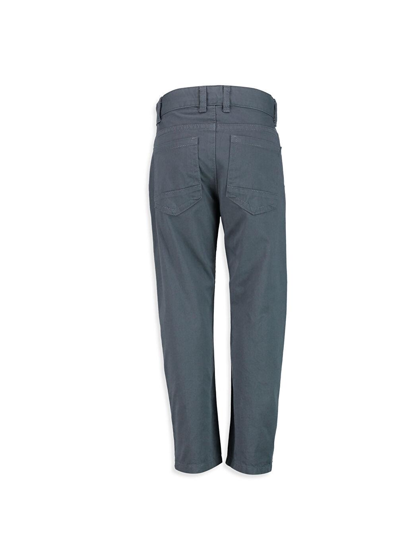 %100 Pamuk Standart Standart Kalıp Gabardin Pantolon