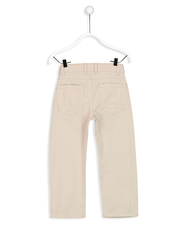 %100 Pamuk Normal Standart Kalıp Gabardin Pantolon