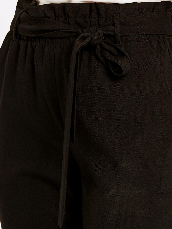 %65 Polyester %3 Elastan %32 Viskon Bilek Boy Poliviskon Havuç Pantolon