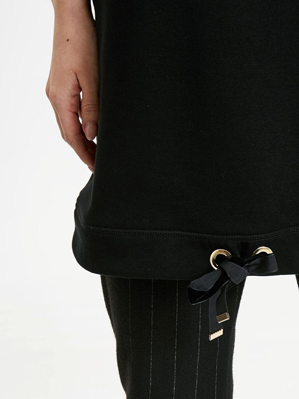 %66 Pamuk %34 Polyester Uzun Basic Sweatshirt
