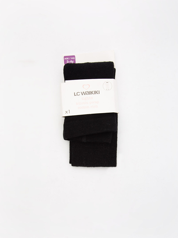 Siyah Külotlu Çorap 8W1412Z4 LC Waikiki