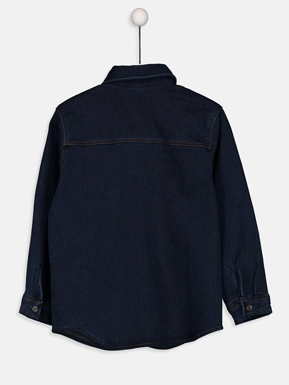 Erkek Çocuk Uzun Kollu Jean Gömlek