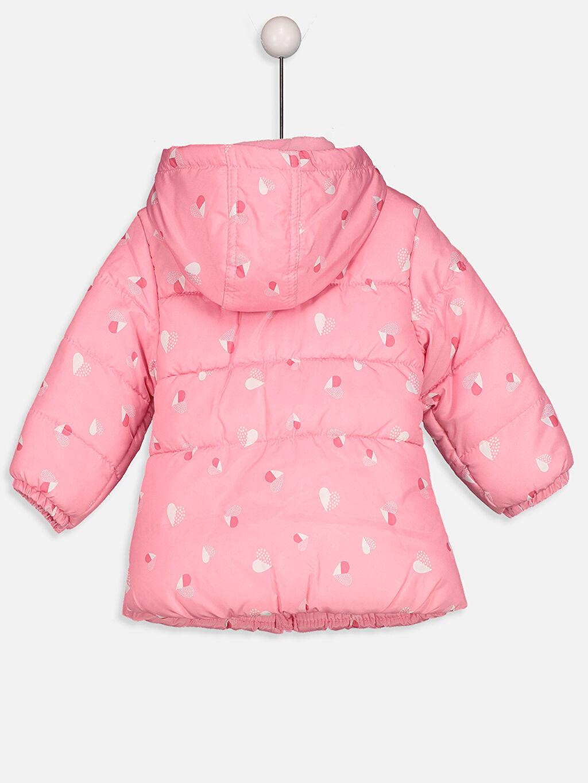 %100 Polyester %100 Polyester Mont Kız Bebek Uzun Şişme Mont