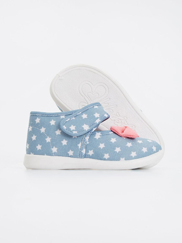 Kız Bebek Kız Bebek Baskılı Ayakkabı