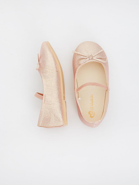 Tekstil malzemeleri Ayakkabı Kız Bebek Parıltılı Babet