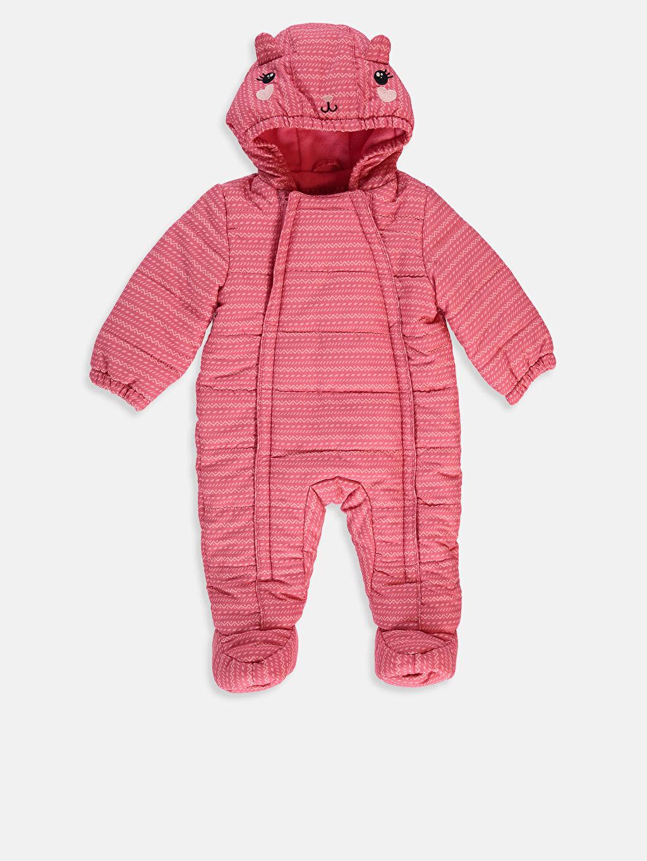 Pembe Kız Bebek Astronot Mont  8W2619Z1 LC Waikiki