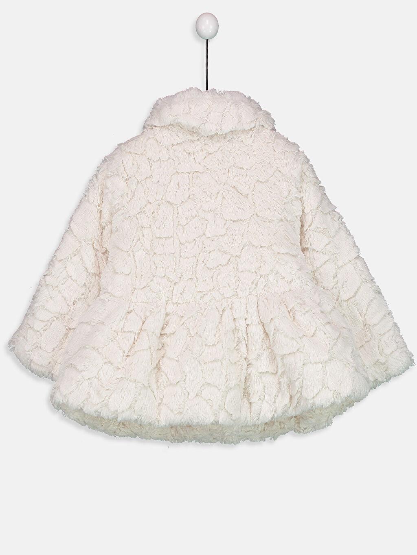 %100 Polyester %100 Polyester Kalın Kaban Kız Bebek Pelüş Kaban