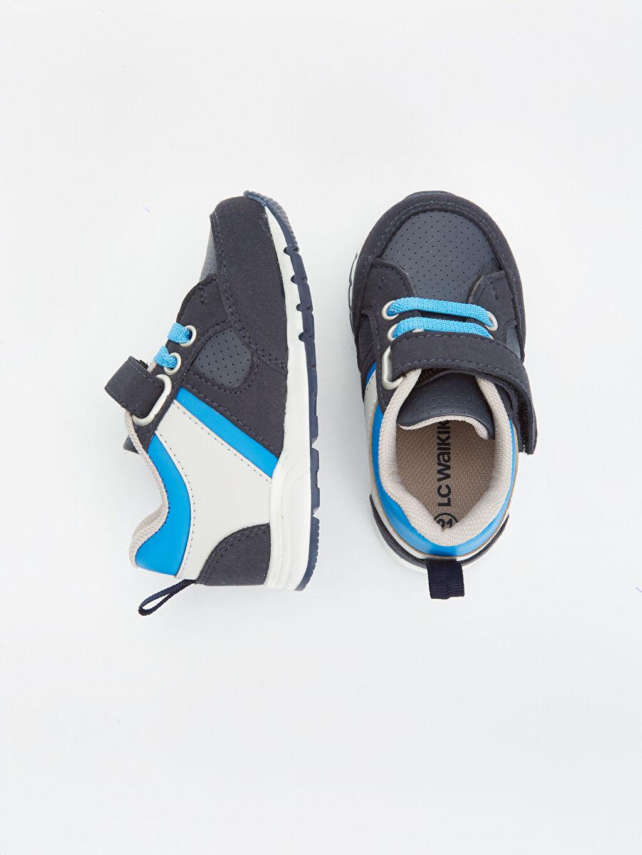 Diğer malzeme (poliüretan) Tekstil malzemeleri  Erkek Bebek Spor Ayakkabı