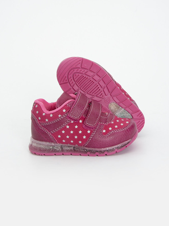 %0 Diğer malzeme (poliüretan) Ayakkabı Kız Bebek Işıklı Spor Ayakkabı