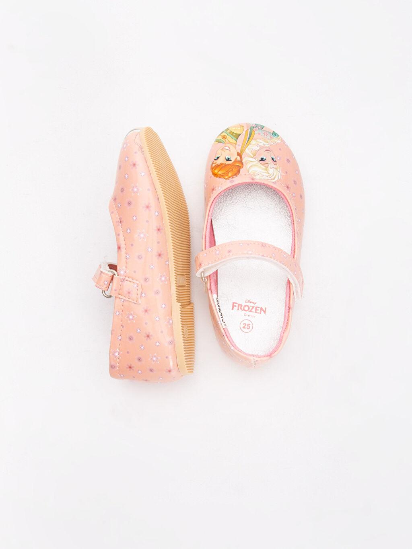 %0 Diğer malzeme (poliüretan) Ayakkabı Frozen Desenli Babet
