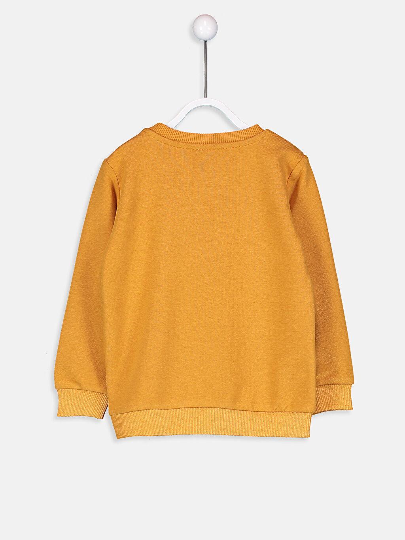 Erkek Bebek Erkek Bebek Payet İşlemeli Sweatshirt