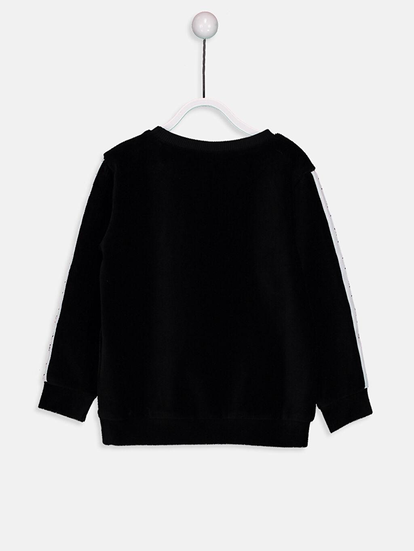%59 Pamuk %39 Polyester %2 Elastan  Erkek Bebek Sweatshirt