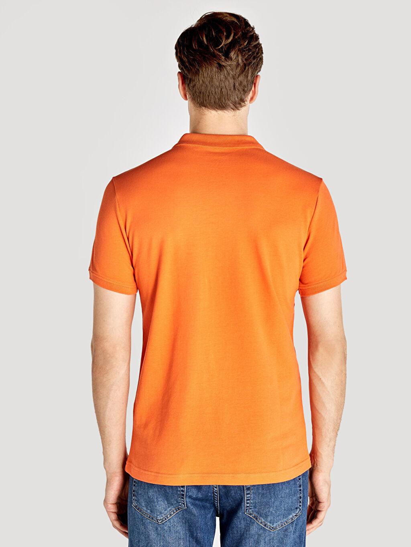 Erkek Polo Yaka Kısa Kollu Pike Basic Tişört