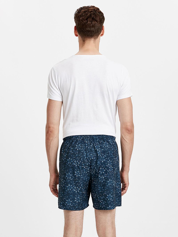 %100 Polyester %100 Polyester  Kısa Boy Baskılı Standart Kalıp Deniz Şortu