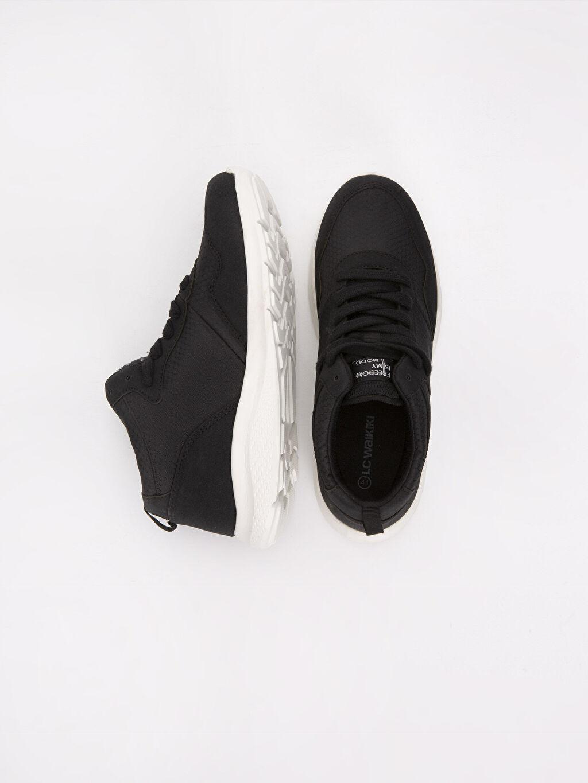 Tekstil malzemeleri Diğer malzeme (pvc) Ayakkabı Erkek Bağcıklı Spor Ayakkabı