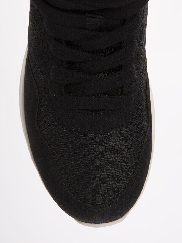 LC Waikiki Siyah Erkek Bağcıklı Spor Ayakkabı