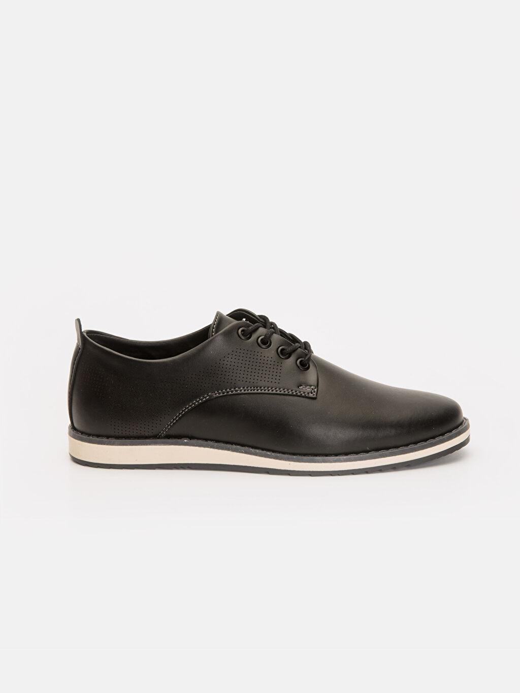 Siyah Erkek Bağcıklı Klasik Ayakkabı 9S6381Z8 LC Waikiki