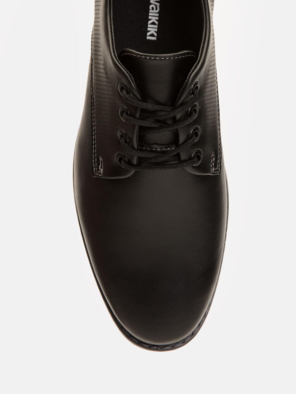 LC Waikiki Siyah Erkek Bağcıklı Klasik Ayakkabı
