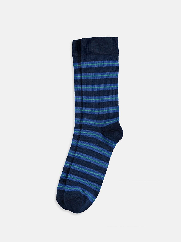 %85 Pamuk %13 Poliamid %2 Elastan  Soket Çorap 3'lü