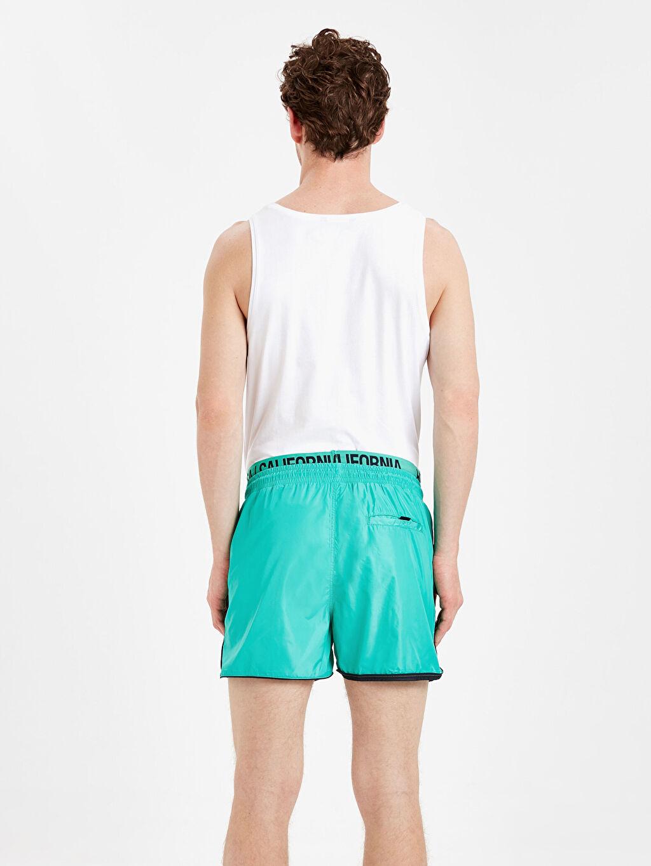 %100 Poliamid %100 Polyester  Kısa Boy Standart Kalıp Deniz Şortu