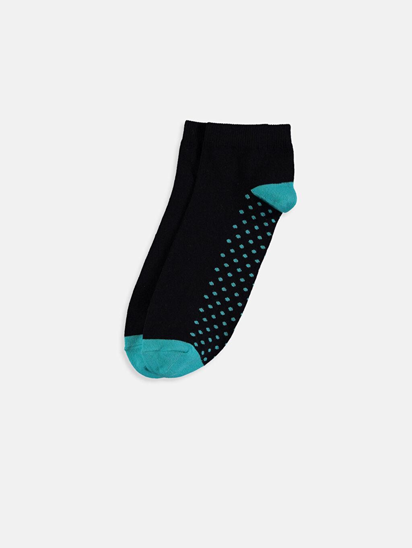 %78 Pamuk %19 Poliamid %3 Elastan  Soket Çorap 3'lü
