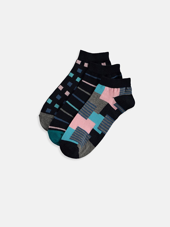 Çok Renkli Patik Çorap 3'lü 9S6795Z8 LC Waikiki