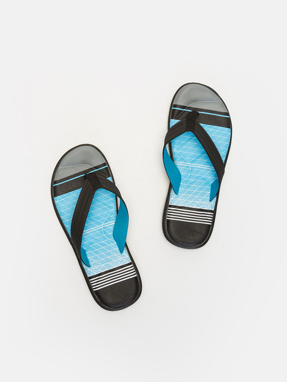 Mavi Erkek Parmak Arası Plaj Terliği 9SI125Z8 LC Waikiki