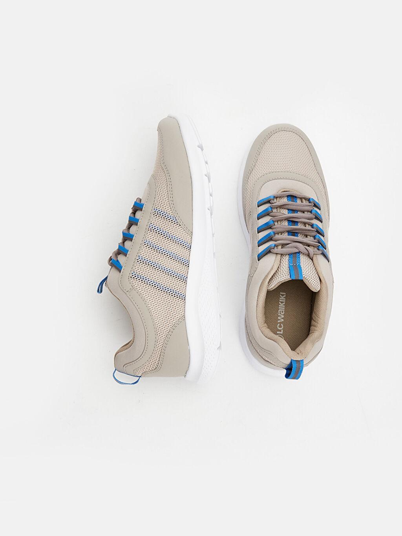 Tekstil malzemeleri Diğer malzeme (pvc) Ayakkabı Erkek Bağcıklı Aktif Spor Ayakkabı