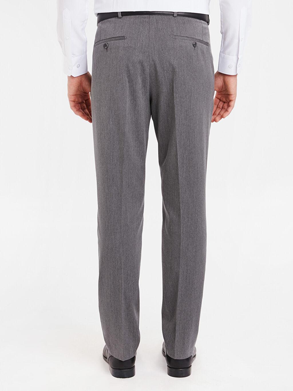 Erkek Standart Kalıp Takım Elbise Pantolonu