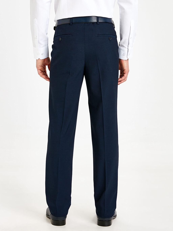Erkek Standart Kalıp Gabardin Takım Elbise Pantolonu