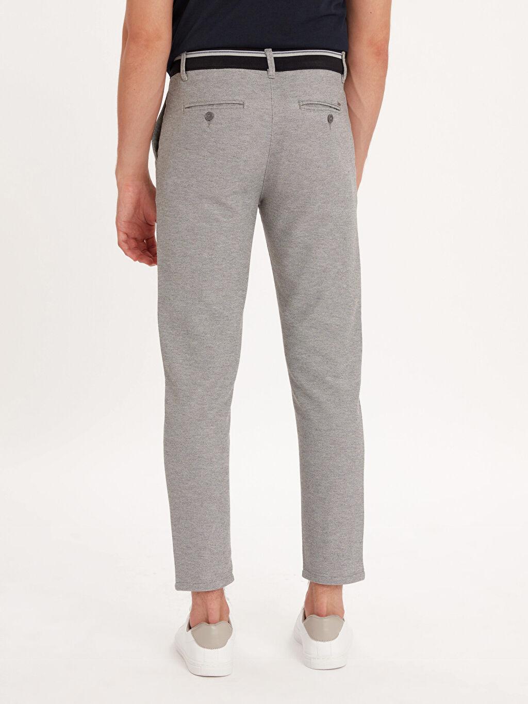 Erkek Slim Fit Bilek Boy Spor Pantolon