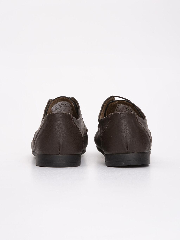 Erkek Deri Görünümlü Ayakkabı