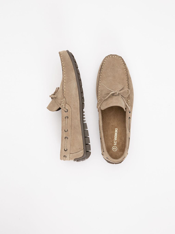 Diğer malzeme (pvc)  %0 Diğer malzeme (polyester) %0 Tekstil malzemeleri(%50 pamuk,  %50 polyester)  Erkek Deri Loafer Ayakkabı