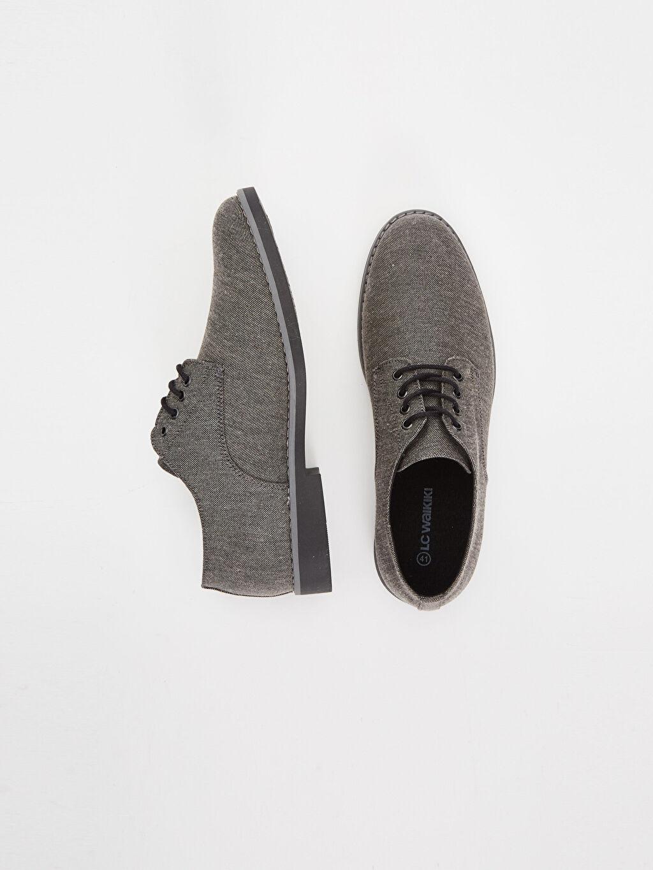 Tekstil malzemeleri  Erkek Bağcıklı Derby Ayakkabı