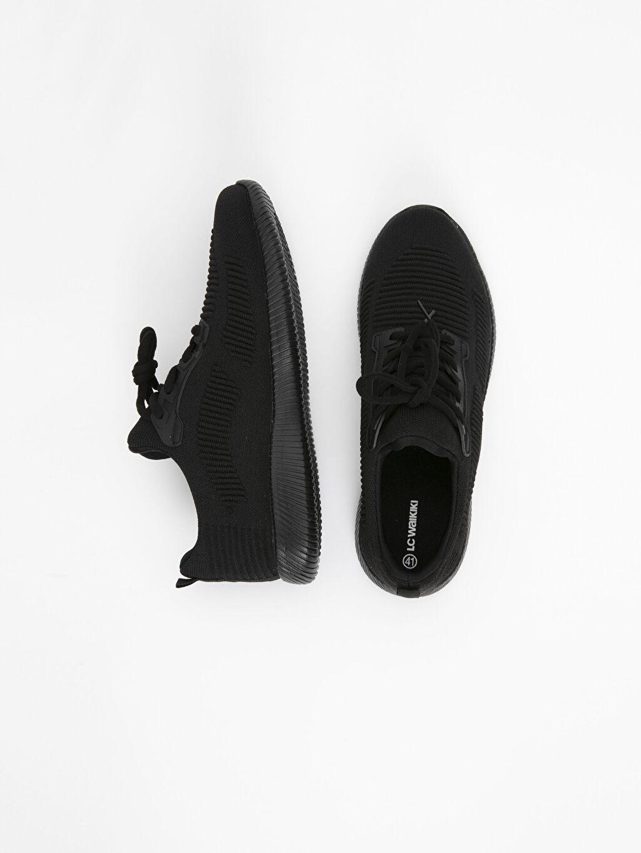 Tekstil malzemeleri Diğer malzeme (pvc) Ayakkabı Erkek Triko Spor Ayakkabı